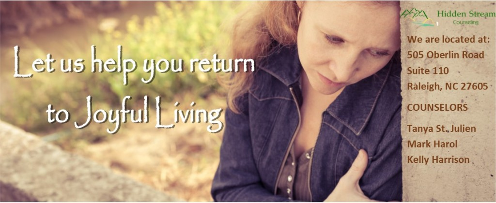 Let us help you return to joyful living